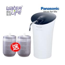 【淨水生活】《 Panasonic 國際牌》【公司貨】TK-CS20 桌上型高效能淨水器 ★贈P-6JRC (2支) ★DIY安裝
