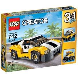 樂高LEGO CREATOR 高速黃色汽車 31046 TOYeGO 玩具e哥