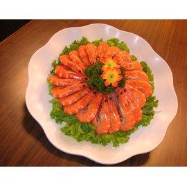 黃氏漁舖 熟凍白蝦 600g 1盒