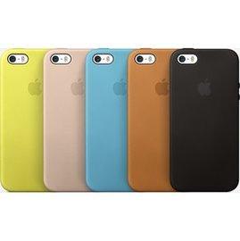 APPLE    iPhone 5 5S Case ~ 米色 皮革 保護蓋 保護殼  24