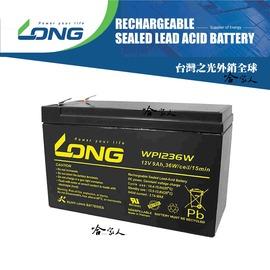 ~LONG 廣隆光電~ WP1236W NP 12V 9Ah 電動車電池 電動滑板車 玩具