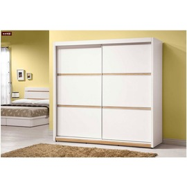 ~台北家福~^(FX124~4^) 露西7^~7尺推門衣櫃