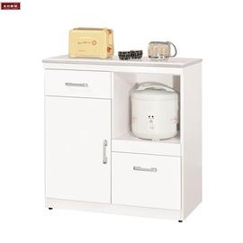 ~台北家福~^(FX826~5^) 祖迪白色2.7尺石面單門碗碟櫃  櫃下座