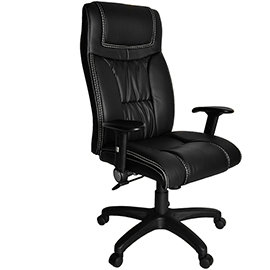 ~凱堡~ knight皮革主管椅 辦公椅 電腦椅A49137