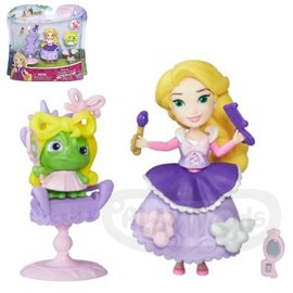 ~Playwoods~^~迪士尼公主Disney^~迷你公主及 遊戲組:長髮公主樂佩的美髮