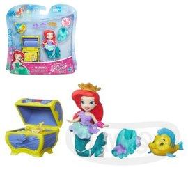 ~Playwoods~ 迪士尼公主Disney 迷你公主及 遊戲組:小美人魚 愛麗兒的藏寶