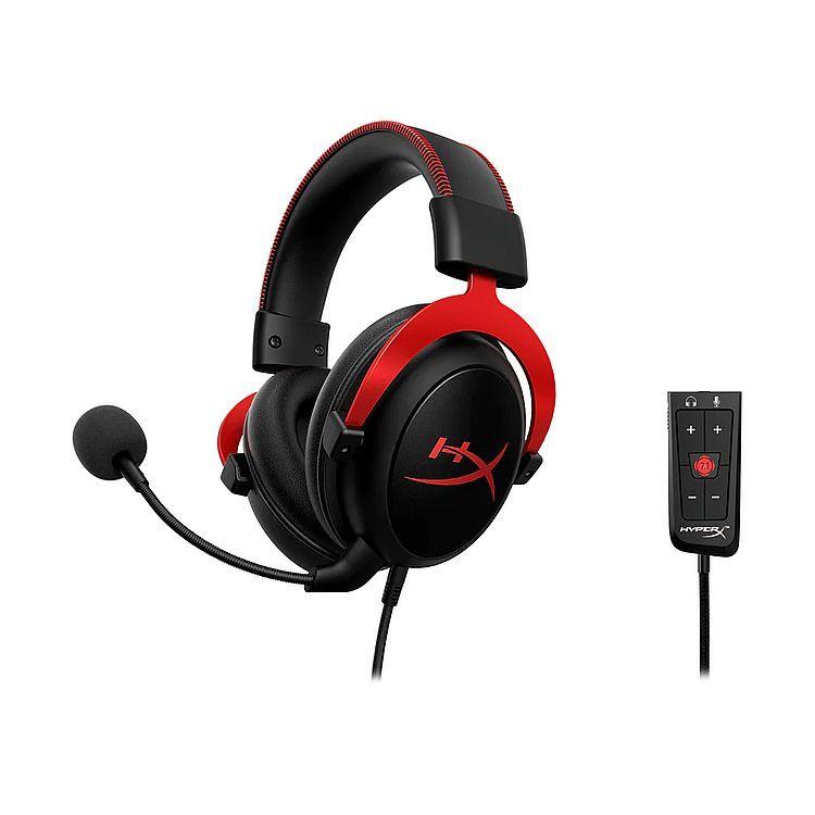 ~加送usb風扇~金士頓 HyperX Cloud II 電競耳機 ^~ 黑紅