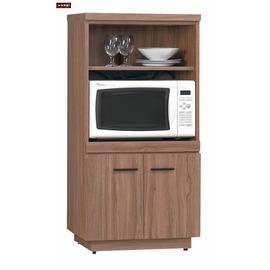 ~台北家福~^(FH251~3^)比提2^~4尺柚木色餐櫃 碗盤櫃