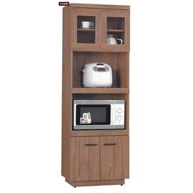 ~台北家福~^(FH251~4^)比提2^~6尺柚木色餐櫃 碗盤櫃