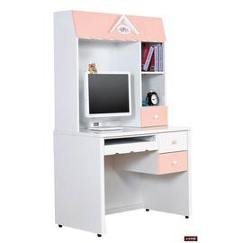 ~台北家福~^(FH314~1^)愛丁堡粉紅色電腦書桌
