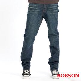 ~BOBSON~男款伸縮直筒牛仔褲 7005~53