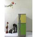 淞平ABS 塑膠型 置物櫃 收納櫃 OA公文櫃 員工置物櫃 ~透氣性把手櫃 S 1格 M1