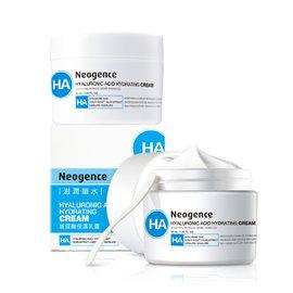 Neogence霓淨思 玻尿酸保濕乳霜50mL~2入組 ^(盒損^)