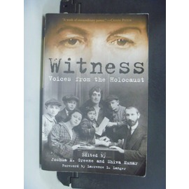 ~書寶 書T6╱原文小說_GJQ~Witness: Voices from the Hol