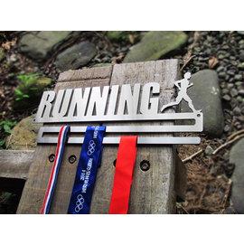 *獨家設計*雙排式獎牌陳列架,獎牌架,30cm寬適合靈活空間規劃獎牌懸掛架,馬拉松、單車鐵人、路跑