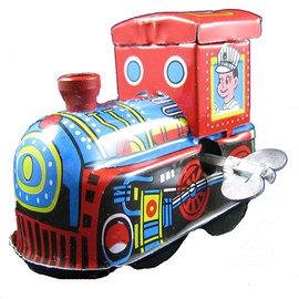 鐵皮發條玩具系列~百年阿里山火車頭 重現