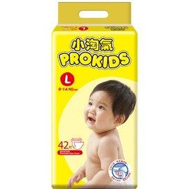 小淘氣 Prokids 紙尿褲 尿布 L42 片 包