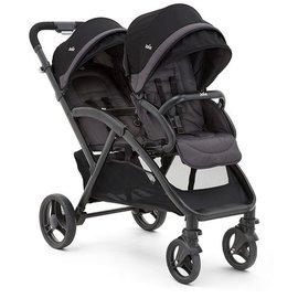 『GCH33』 2015年新款 奇哥 Joie Aire Twin 雙胞胎嬰兒推車 JBB60200K 【平躺式座椅/四輪避震 】