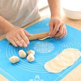廚房用品 烘焙工具 矽膠揉面墊 案板耐高溫 防滑 不粘墊【HH婦幼館】