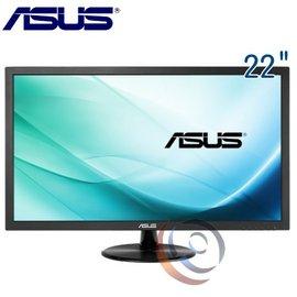 華碩 ASUS VP228NE 22型不閃屏低藍光LED LCD 液晶寬螢幕
