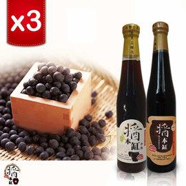 ~醬本缸~365天靜釀甕藏黑豆醬油^( 六入組^)