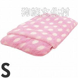 ~ DOGGYMAN~4709 超厚毛茸茸保溫發熱睡袋 S號 點點粉紅色~8公斤 犬貓 ~
