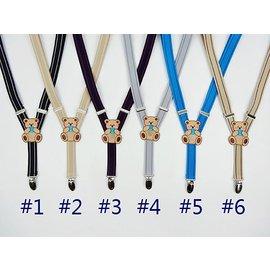 兒童吊帶鬆緊帶彈性吊帶 飾品  製 COCO熊可愛 百搭款^~神奇布布屋^~