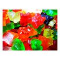 年貨大街 •散糖軟糖區• 泰迪熊 小熊QQ軟糖 600g^(一斤^)~豬豬本舖~
