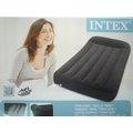 玩樂 美國INTEX 66767有頭枕單人植絨充氣床 空氣床 外出露營氣墊床 居家或飯店加