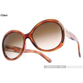 Chloe 太陽眼鏡 CL634S 214 ^(琥珀^) 法式典雅氣質女款大框 墨鏡 ^#