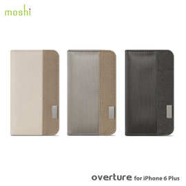 moshi Overture for iPhone 6 6S Plus 側開卡夾型保護套~