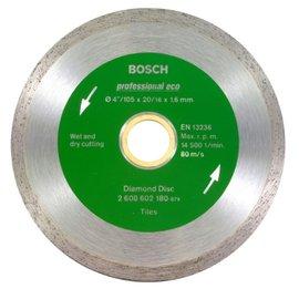 BOSCH 連續邊鑽石鋸片4英吋105×20×1.6mm★建築材料用