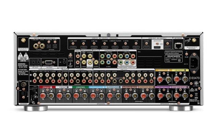 2声道信号处理 •搭载马兰士最新hdam的电流回馈电路 &#8226