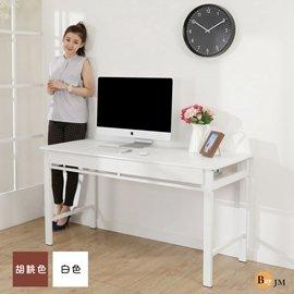 BuyJM 尼可防潑水140公分雙抽書桌^(2色^)