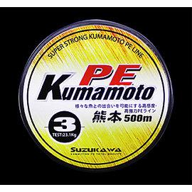 ~百有釣具~太平洋POKEE KUMAMOTO 熊本PE布線 500M 彩虹 5色  規格
