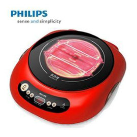 ~贈碳鋼不沾燒烤盤~~PHILIPS~~ 飛利浦 黑晶爐 HD4989 HD~4989 ^