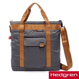 Hedgren HNW ~New Way 摩登商務系列~13吋兩用托特包~鐵灰色