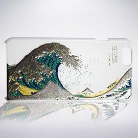 愛殼瘋獨賣 首批 通知 山中漆器 ^  iPhone 6s Plus 高盛ベ蒔絵 波�奡I