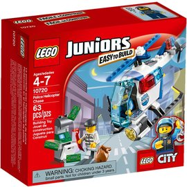 LEGO 樂高~JUNIORS 樂高小建築師系列~Police Helicopter Ch