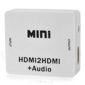 新竹市(2016最新版本) HDMI 2 HDMI+audio PS4 解除HDCP 影音音源解碼器/音頻分離器/轉換器/轉接器
