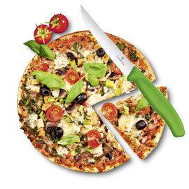 VICTORINOX瑞士維氏 12cm牛排刀 披薩刀~綠~6.7936.12L4~