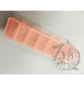 ◎百有釣具◎小集合 K-803 零件盒 規格(cm):長:15.2cm/寬3.9cm/高:2cm