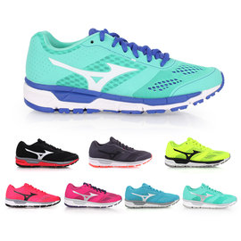 MIZUNO SYNCHRO MX 女慢跑鞋   美津濃 訓練 健身 路跑~0201529