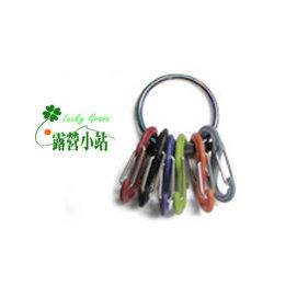 大林小草~【KRG-03-07】美國 NITE IZE 奈愛 凱琳鑰匙扣(彩鈦)