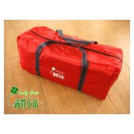 大林小草~【441-8336-R】420D 露營用品、睡墊、睡袋 、帳篷 收納袋、裝備袋(紅)--台灣製造
