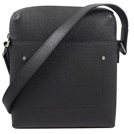 Louis Vuitton LV M30505 Grigori系列 Taiga全皮革壓紋斜