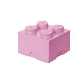 Lego樂高儲存磚4^(淺紫色^)