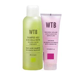 ~699洗護組~WTB昂賽芙 洗髮液1000mlx1 潤護髮膜250mlx1