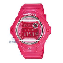 【錶飾 】 CASIO卡西歐Baby-G防水200米BG-169R-4BDR粉紅BG-16