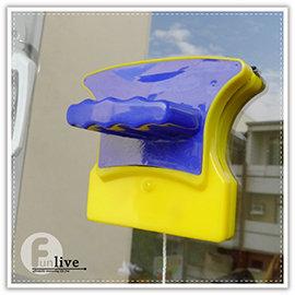 【Q禮品】B2828 磁力玻璃清潔刷/強力雙面 磁刷/魚缸磁力刷/玻璃刮刀/窗戶玻璃清潔器/打掃用品